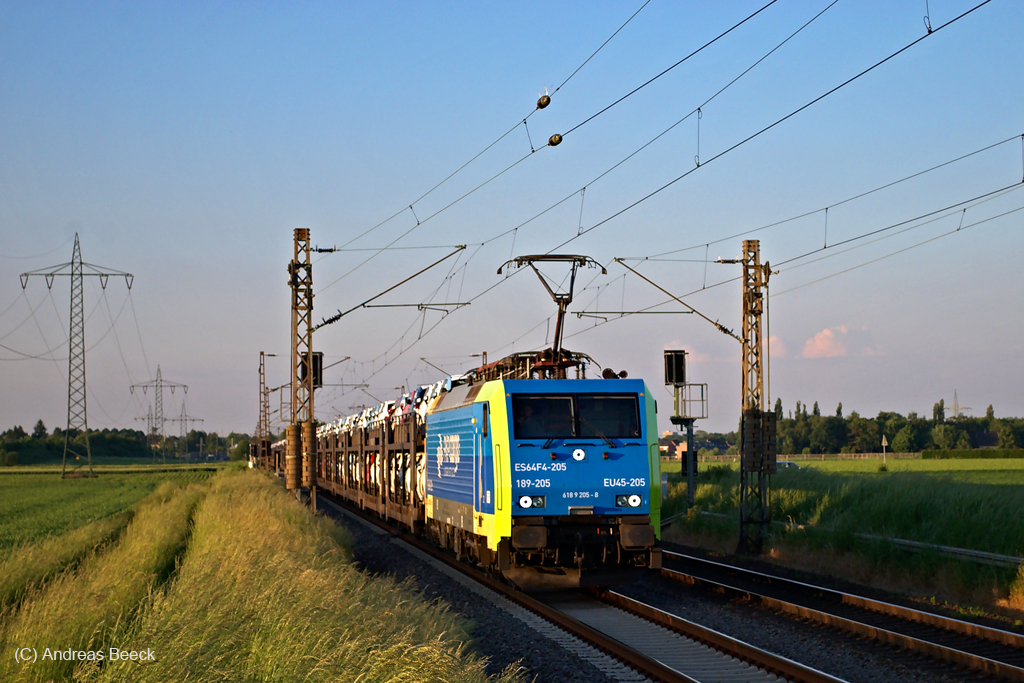 Electrification of European railway
